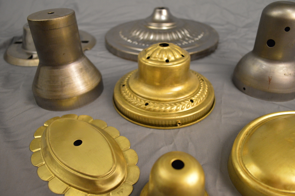Different Metal Spinning Products Shapes