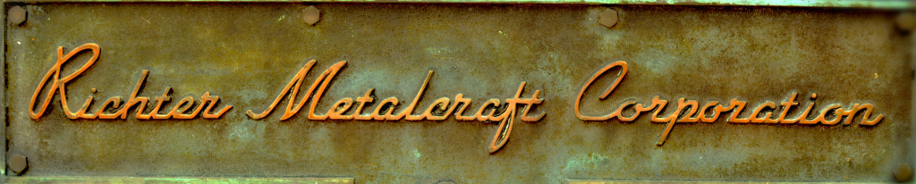 Richter Metalcraft Corp Sign