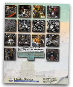 Snapshot of the Charles Richter Catalog Cover